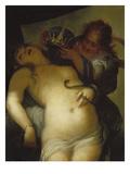 Tod Der Cleopatra Print by Sebastiano Ricci