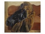 Der Pelz des Kuenstlers, um 1845 Giclee Print by Adolph von Menzel