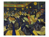 The Dance Hall at Arles, 1888 Giclee Print by Vincent van Gogh