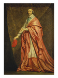 Bildnis Des Kardinals Richelieu Posters by Philippe De Champaigne