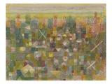 Die Flora Der Heide, 1925 Giclée-Druck von Paul Klee