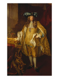 Emperor Carl Vi of Austria Giclee Print by Johann Gottfried Auerbach