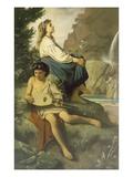 Ricordo Di Tivoli, 1868 Giclee Print by Anselm Feuerbach