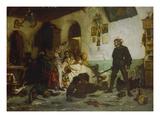 Ulrich Von Hutten Fighting Agaist French Noblemen, about 1869 Giclee Print by Wilhelm von Lindenschmidt