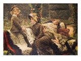 The Garden Bench, 1882 Prints by James Tissot