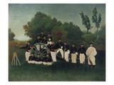 The Artillerymen, about 1895 Giclee Print by Henri Rousseau