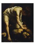 David Defeats Goliath Posters by  Caravaggio