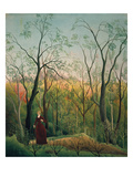 At the Edge of a Forest, about 1886 Giclee Print by Henri Rousseau