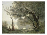 Recollections of Mortefontaine, 1864 Giclee Print by Jean-Baptiste-Camille Corot