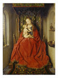 Lucca-Madonna, about 1437/38 Giclee Print by Jan Van Eyck