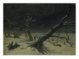 Winter Landscape, 1811 Giclee Print by Caspar David Friedrich