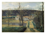 Ville-D'Avray (Les Maisons Cabassud) Print by Jean-Baptiste-Camille Corot