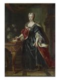 Electress Therese Kunigunde of Bavaria Giclée-Druck von Joseph Vivien