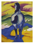 Blue Horse Ii, 1911 Reproduction procédé giclée par Franz Marc