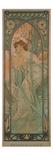 Alphonse Mucha - The Times of the Day: Evening Contemplation, 1899 Digitálně vytištěná reprodukce
