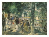 At the Seine River Posters by Pierre-Auguste Renoir