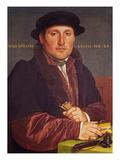 Portrait of a Young Merchant (Supposedly Hans Von Muffel from Nuremberg) Giclée-Druck von Hans Holbein the Younger