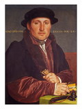 Portrait of a Young Merchant (Supposedly Hans Von Muffel from Nuremberg) Giclee Print by Hans Holbein the Younger