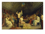 The Tepidarium, 1853 Prints by Theodore Chasseriau