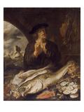 Der Monat Maerz, 1642 Poster by Joachim Von Sandrart
