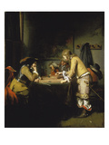 Soldiers Playing Tric-Trac Giclee Print by Gerbrand Van Den Eeckhout