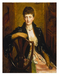 Portrait of Alice Sophia Caroline Wortley Prints by John Everett Millais