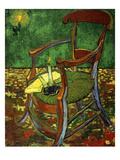 Gauguin&#39;s Chair (With Candle), 1888 Reproduction proc&#233;d&#233; gicl&#233;e par Vincent van Gogh