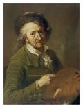 Self-Portrait 1791 Giclee Print by Franz Ignatz Oefele