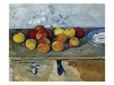 Still-Life with Apples and Cookies, 1879-82 Posters by Paul Cézanne