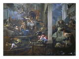 Die Pest in Venedig, 1666 Poster by Antonio Zanchi