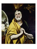 The Penitence of St. Peter, about 1600 Poster by  El Greco