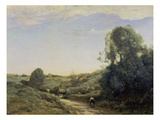Der Kleine Wagen Prints by Jean-Baptiste-Camille Corot