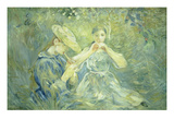 A Concert in the Garden, 1890 Giclee Print by Berthe Morisot