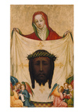 St. Veronica with the Shroud of Christ Giclee Print by  Master of Saint Veronika