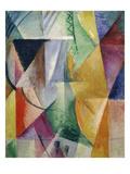 Fenster. Studie Fuer Drei Fenster, 1912 Giclée-tryk af Robert Delaunay