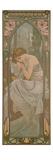 Alphonse Mucha - The Times of the Day: Night's Rest, 1899 Digitálně vytištěná reprodukce