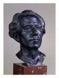 Gustav Mahler, 1909 Prints by Auguste Rodin