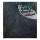 La Barque, about 1887 Giclee Print by Claude Monet