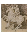 Draft for an Equestrian Statue of Francesco Sforza Giclee Print by Antonio Pollaiuolo
