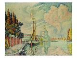 The Dogana, 1909 Giclee Print by Paul Signac