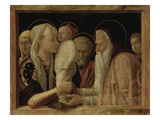 The Presentation in the Temple, about 1465/66 Art by Andrea Mantegna
