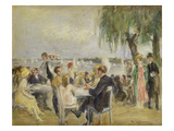 Garden Café on the River Elbe, ca. 1922 Posters by Max Liebermann