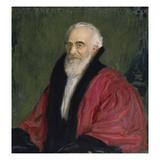 Bildnis Lujo Brentano, 1915 Gicleetryck av Franz von Stuck
