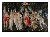 Primavera, 1478 Giclee Print by Sandro Botticelli