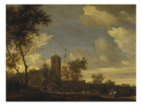 May Day Celebrations, 1655 Gicl&#233;e-Druck von Salomon van Ruysdael