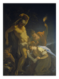 Die Hll.Sebastian Und Irene Giclee Print by Giovanni Antonio Pellegrini
