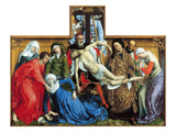 Descent from the Cross Lámina giclée por Rogier van der Weyden