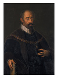 Duke Wilhelm V. of Bavaria. Copy Giclee Print by Hans von Aachen