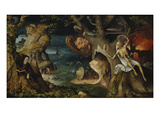 The Temptation of St. Anthony Giclee Print by Jean Mandyn