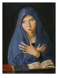 Annunciation of the Virgin Mary Giclée-tryk af Antonello da Messina